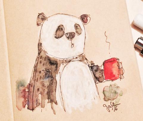 Kaffee Panda